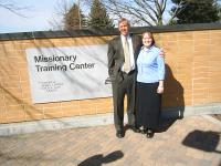 New Missionary Enters MTC!