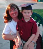 Adam graduates from Preschool!
