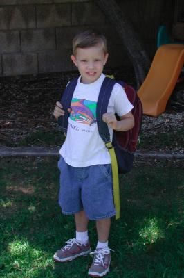 Adam's First Day at School