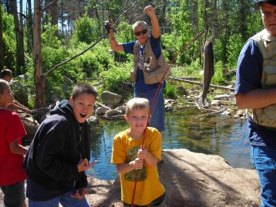 1st Annual Father's Day Campout at Canyon Creek