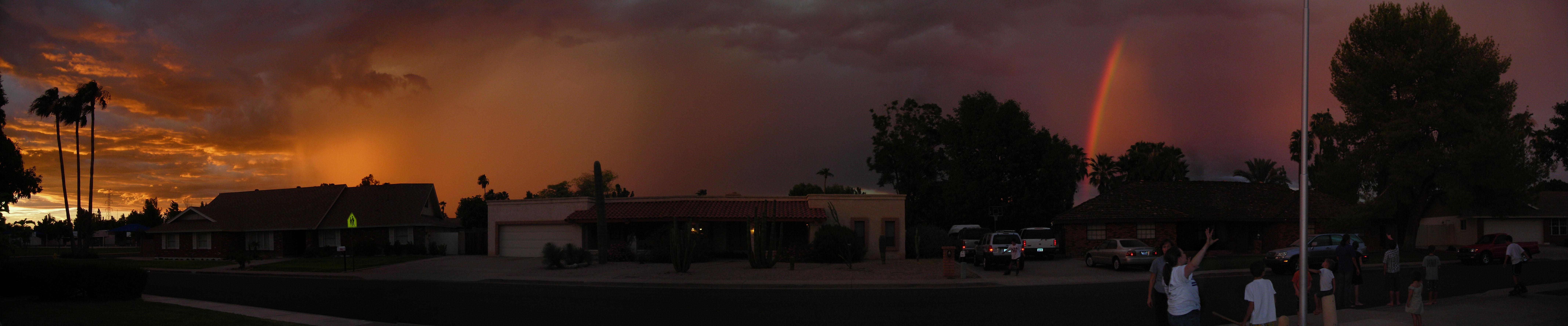 Awesome Arizona Monsoon Sky