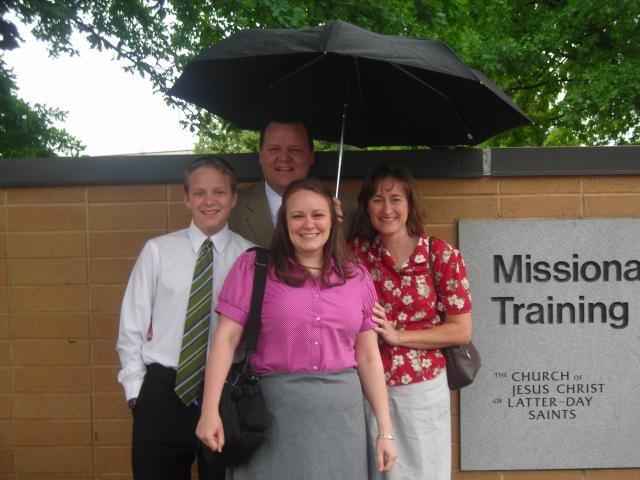 Adam's Baptism, Andrew's Birthday, Havasupai, Girl's Camp and Melinda in the MTC...whew what a busy time...