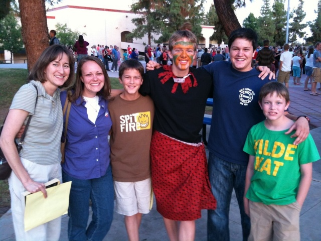 Daniel's Lion King in the Mountain View High School Broadway Review