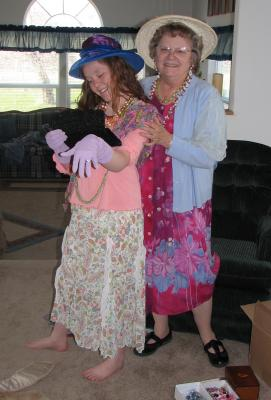 Three Generations Dressing Up!