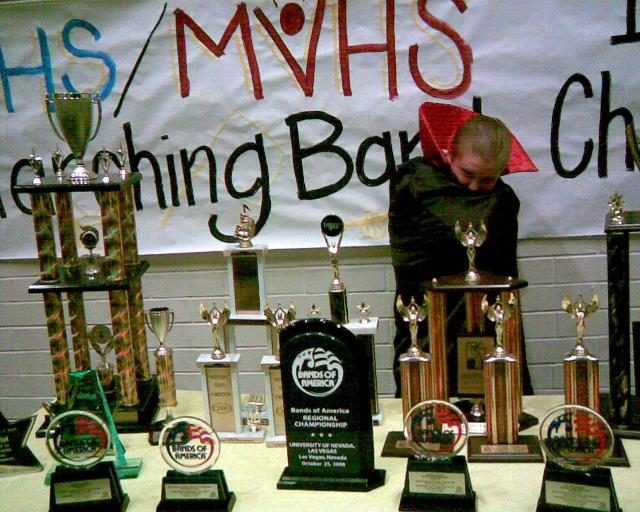 Mountain View High School (Orem, UT) Marching Band Trophies