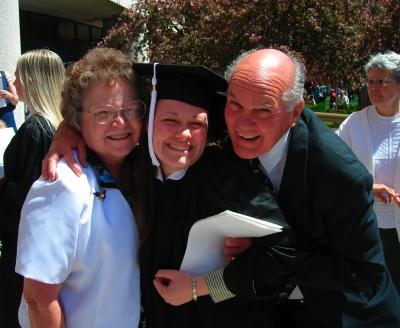 Melinda Graduates!