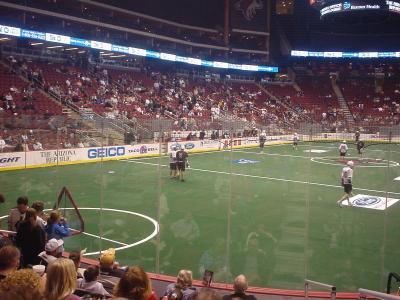 Indoor Lacrosse Rocks!