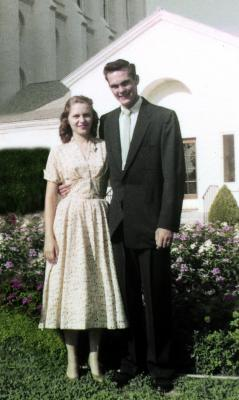 Joseph Carl Free and Isabel Worthen September 9th 1955