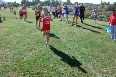 Michael's last High School cross country run