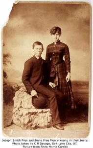 Joseph Smith Free and Irene Free Morris Young