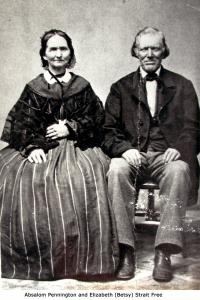 Absalom and Elizabeth (Betsy) Free